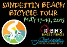 Sandestin Beach Bicycle Tour 2013